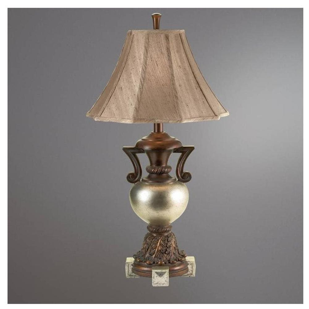 Hudson Industrial Table Lamp Antique Brass - Threshold